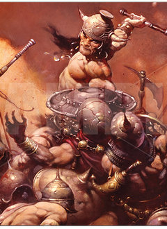 The Destroyer - Frank Frazetta UP Playmat