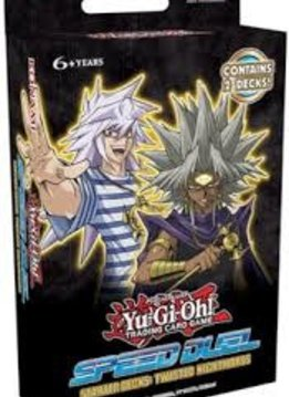 YGO Speed Duels: Twisted Nightmares Starter Deck