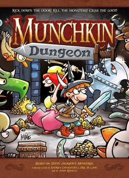 Munchkin Dungeon Kickstarter (Dangers & Dungeons Pledge)