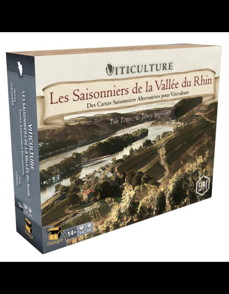 Viticulture: Saisonniers de la Vallée du Rhin (FR)