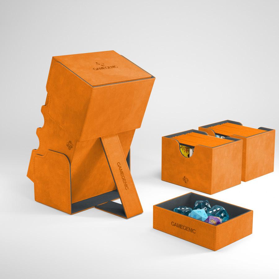 Deck Box: Stronghold Convertible Orange (200ct)