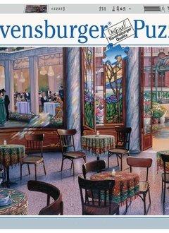 A Café Visit 1000 pièces Puzzle