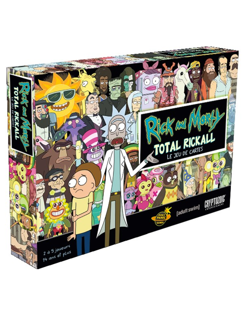 Rick and Morty: Total Rickall - Le Jeu de Cartes (FR)