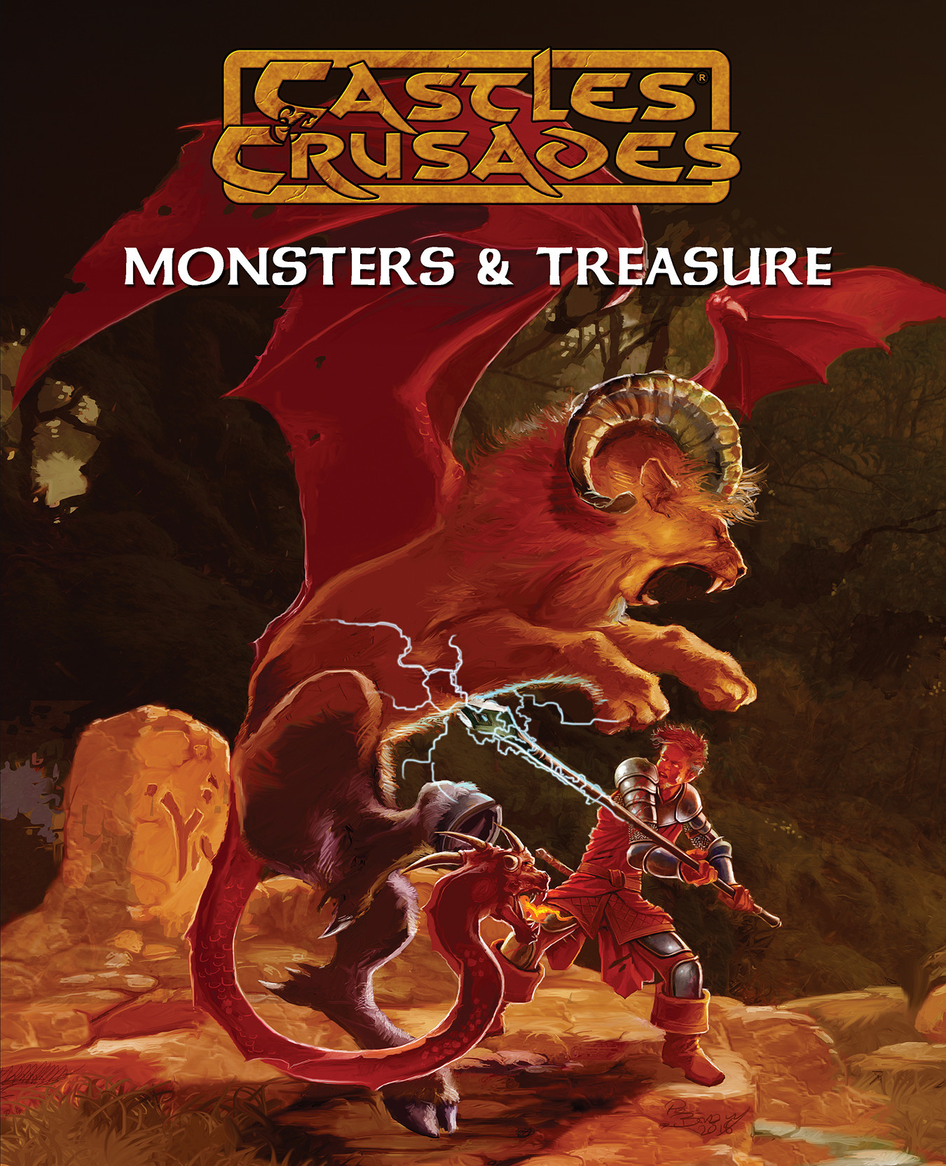 Castles and Crusades 7th Ed. : Monsters & Treasures (HC)