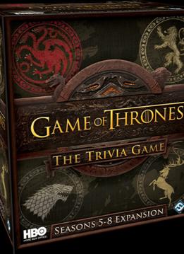 Game of Thrones Trivia Game: Seasons 5-8 Expansion (EN)