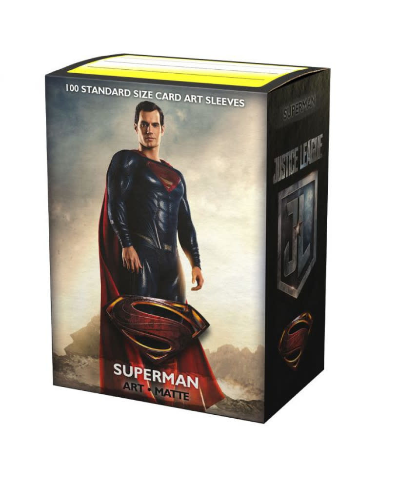 Justice League Superman Dragon Shield Sleeves Ltd. Ed. Matte Art 100ct