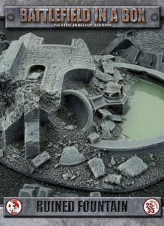 Battlefield in a Box: Gothic Ruined Fountain