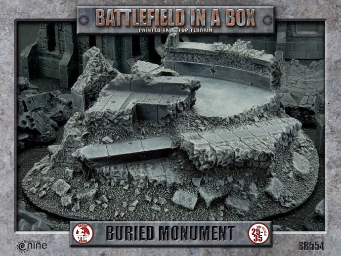 Battlefield in a Box: Gothic Buried Monument