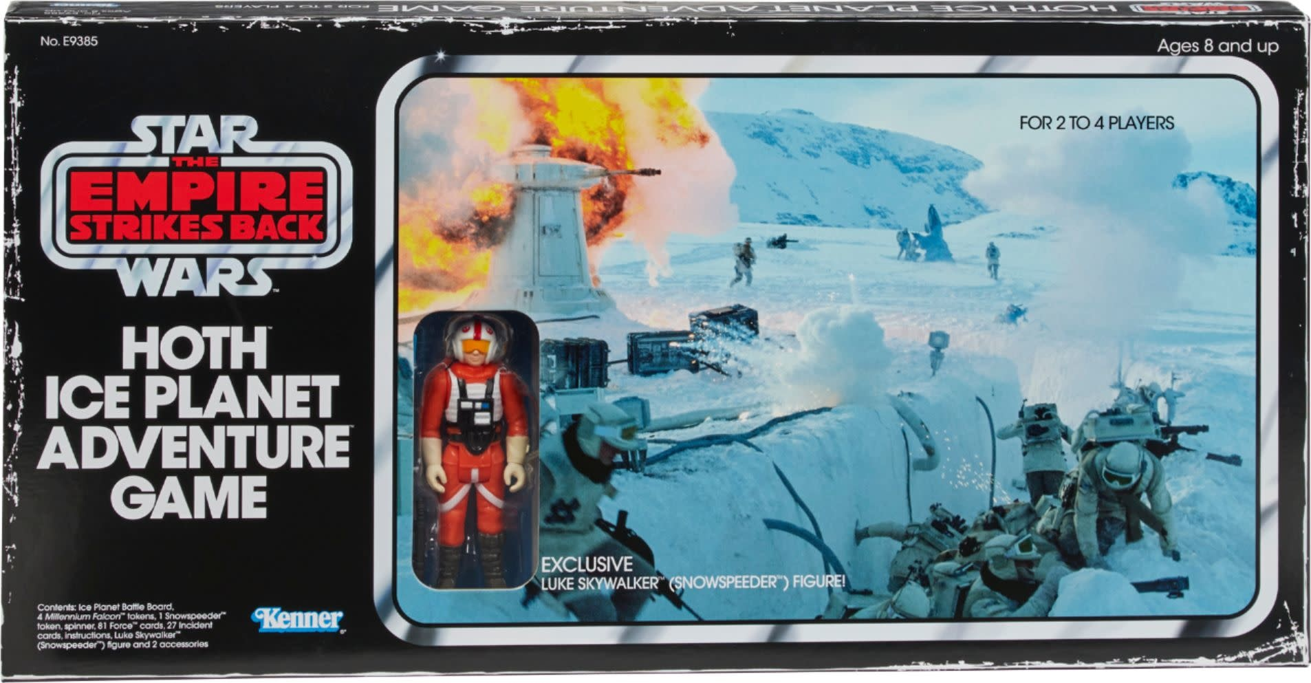 Star Wars: Hoth Ice Planet Retro Adventure Game