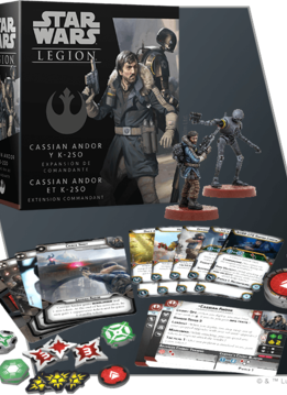 Star Wars Legion : Cassian Andor and K-250 Commander Exp.