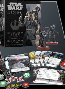 Star Wars Legion : Cassian Andor et K-250 Ext. Commandant (FR)