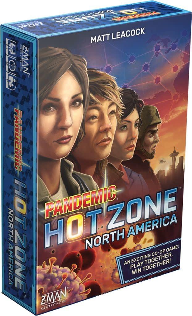 Pandemic: Zone Rouge - Amérique du Nord (FR)