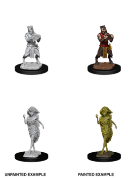 D&D Unpainted Minis: Satyr and Dryad (WV11)