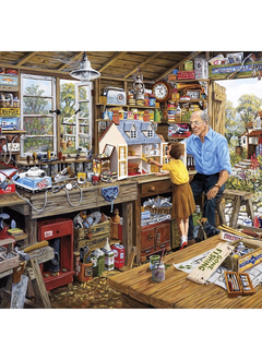 Puzzle: Grandad's Workshop (500XL pc)