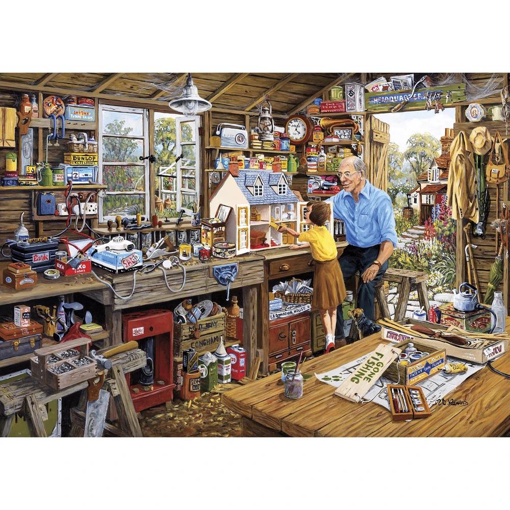 Puzzle: Grandad's Workshop (500XL pc)