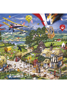 Puzzle: I Love the Country (1000 pc)