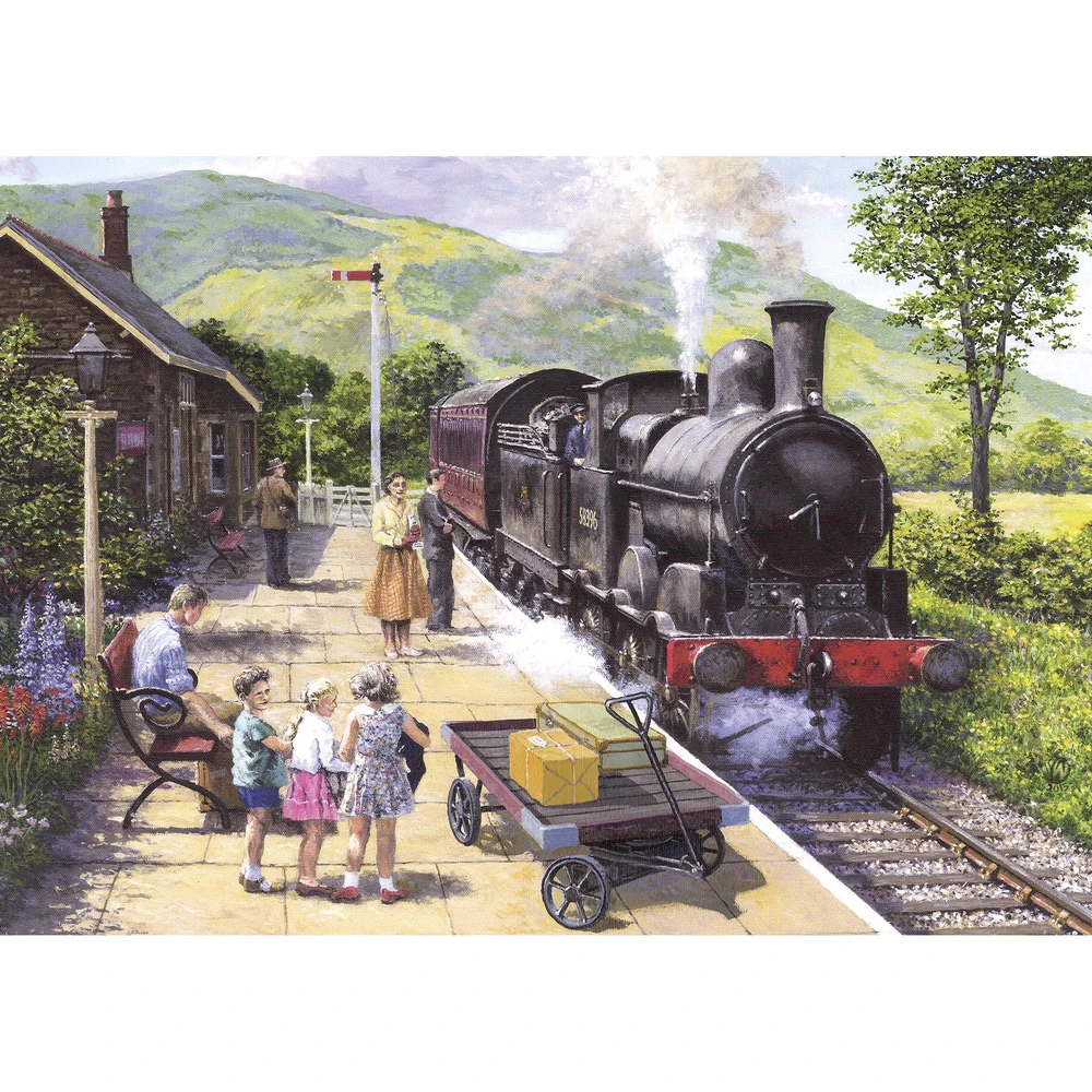 Puzzle: All Aboard to Keswick (1000 pc)