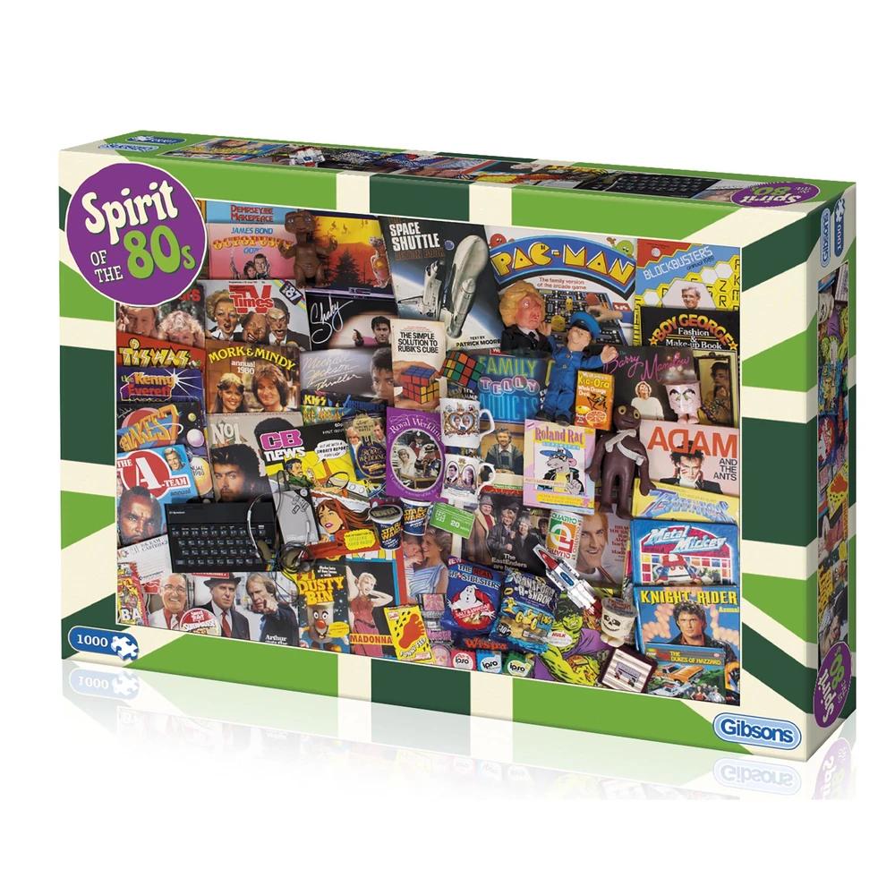 Puzzle: Spirit of the 80s (1000 pc)