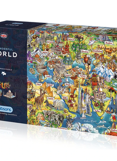 Puzzle: Wonderful World (1000 pc)