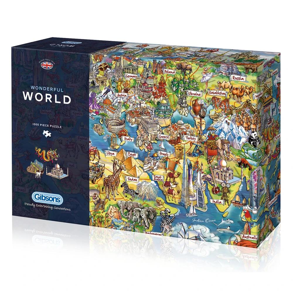 Puzzle: Wonderful World (1000 pc)