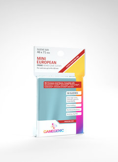 Gamegenic PRIME Sleeves: Mini European (50)