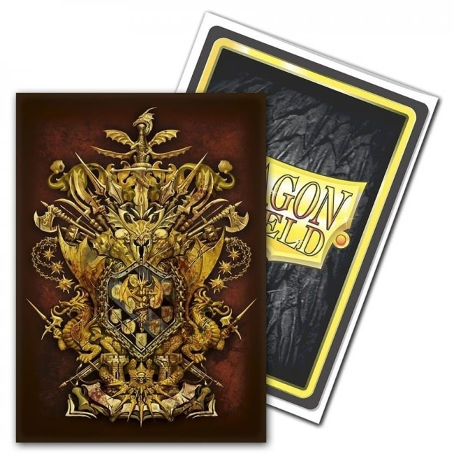 General Vicar Coat-Of-Arms Dragon Shield Sleeves Ltd. Ed. Matte Art 100ct