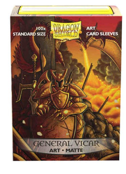 General Vicar Portrait Dragon Shield Sleeves Ltd. Ed. Matte Art 100ct