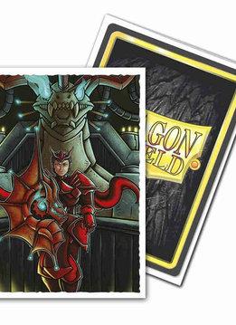 Emperor Scion Portrait Dragon Shield Sleeves Ltd. Ed. Matte Art 100ct