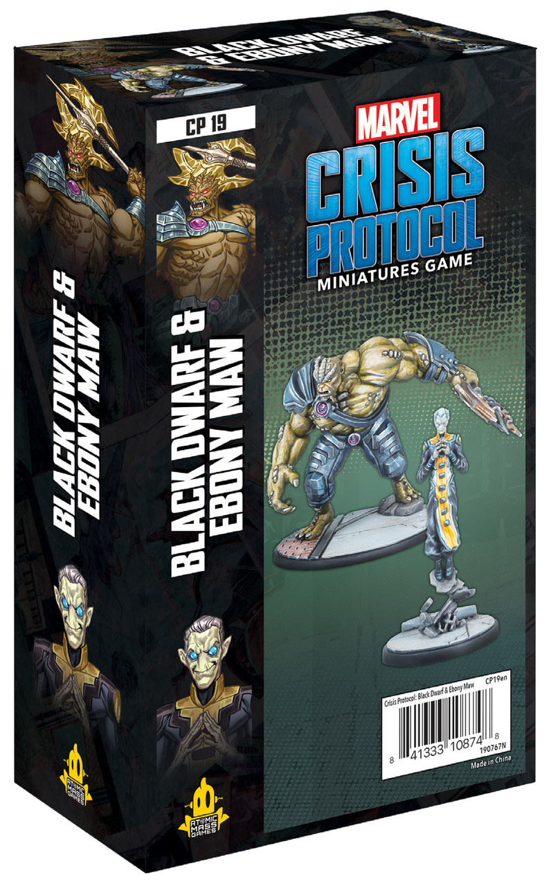 Marvel CP: Black Dwarf and Ebony Maw Character Pack