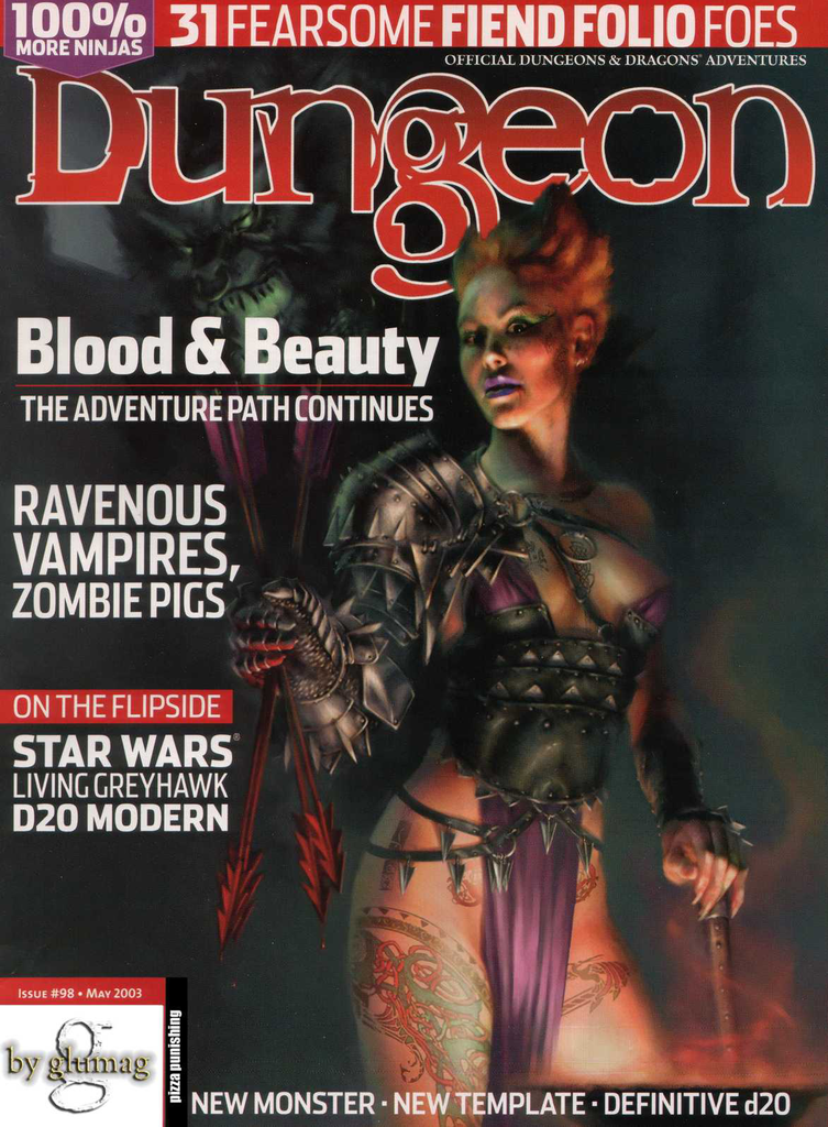 Dungeon Magazine #98