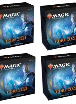 Core 2021- Prerelease à la maison x4 (26 juin)