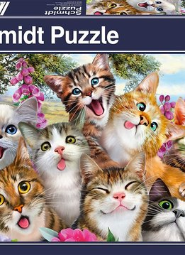 Puzzle: Cat Selfie (500 pc)