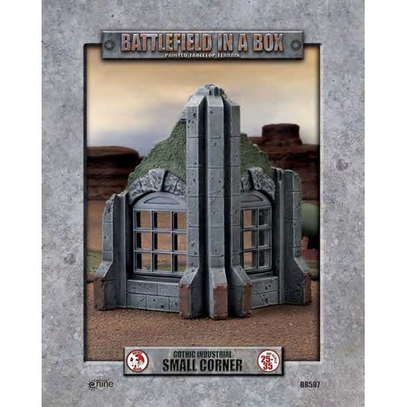 Battlefield in a Box - Gothic Industrial Small Corner