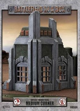 Battlefield in a Box - Gothic Industrial Medium Corner