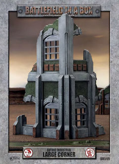Battlefield in a Box - Gothic Industrial Large Corner