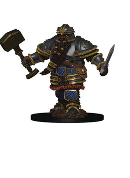 D&D Premium Figures: Dwarf Male Fighter