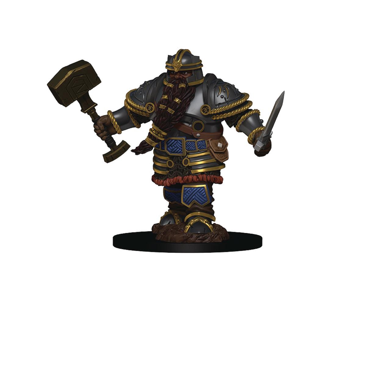 D&D Premium Figures: Dwarf Male Fighter