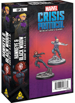 Marvel CP: Hawkeye and Black Widow Agents of S.H.I.E.L.D. Character Pack