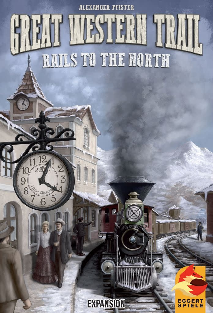 Great Western Trail: Rails to the North (Multilingue)