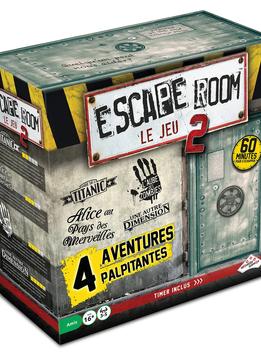 Escape Room: Le Jeu - Coffret de Base 2 (4 Scénarios)