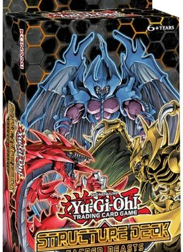 YGO Sacred Beasts Structure Deck