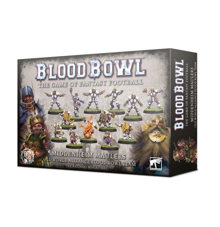 Blood Bowl: The Middenheim Maulers Team Pack
