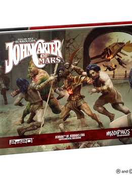 John Carter of Mars: Jeddak of Jeddak Era Rulebook