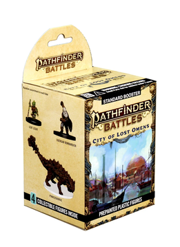 Pathfinder Battles Minis: City of Lost Omens 8ct. Booster Pack