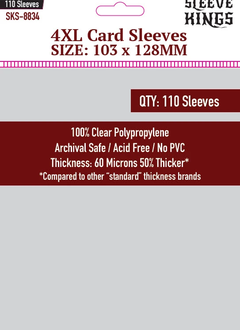 4XL Sleeves 103mm x 128mm 110ct