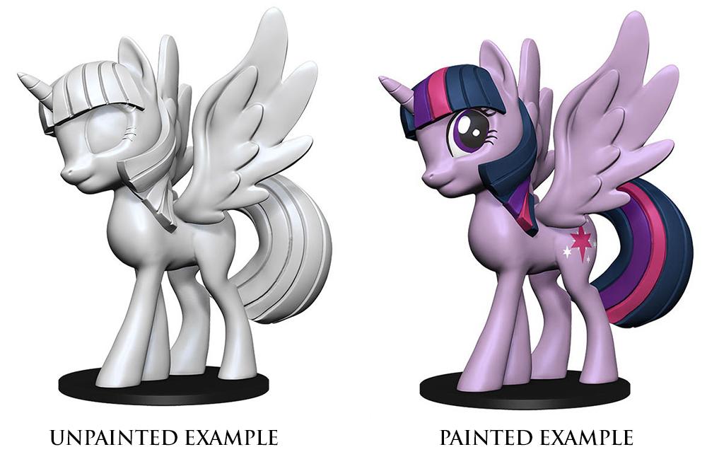 My Little Pony Unpainted Minis: Twilight Sparkle