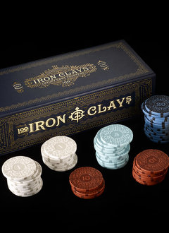 Iron Clays - 100 Chips (Retail Edition)