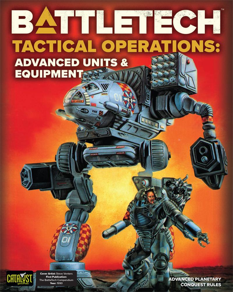 Battletech: Tactical Operations - Advanced Units & Equipment