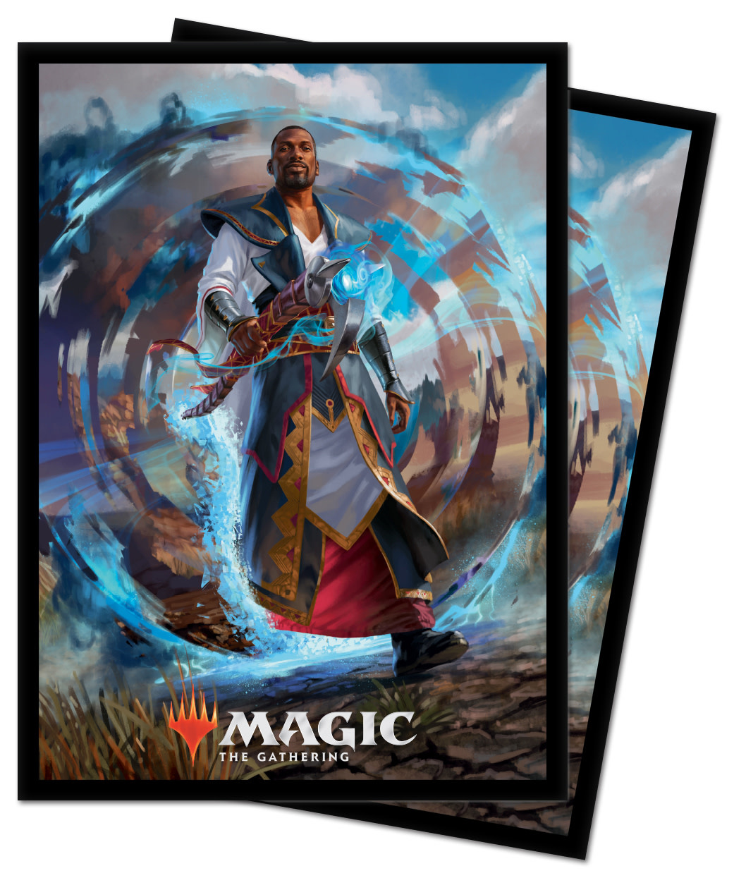 Teferi, Master of Time - MTG Core 2021 UP D-Pro Sleeves 100ct