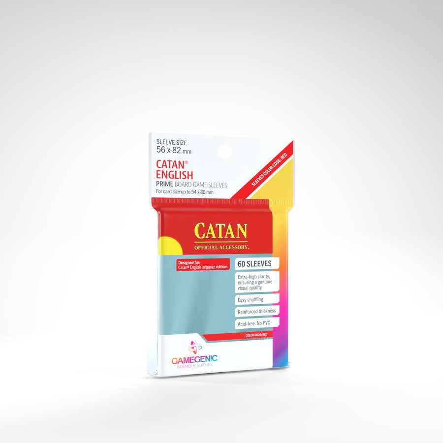 Gamegenic PRIME Sleeves: Catan (50)